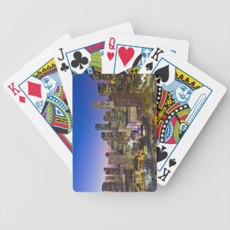 Dowtown Houston Bicycle Playing Cards