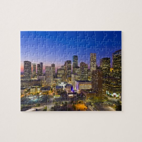 Dowtown Houston Jigsaw Puzzle