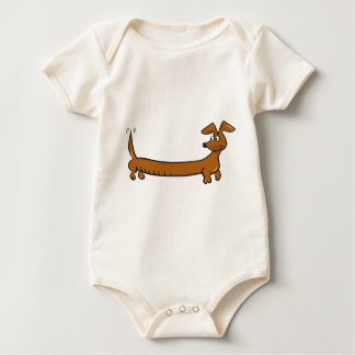 DOXIE-Cartoon Baby Bodysuit