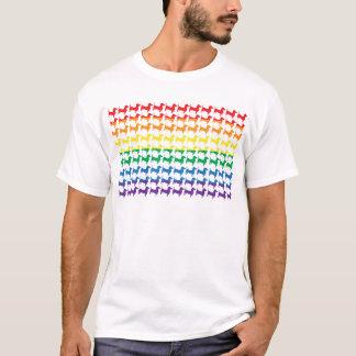 Doxie Gay Pride Flag T-Shirt