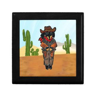 Doxie Gunslinger Gift Box