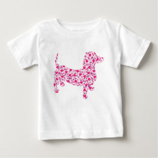 DOXIE-Hearts Baby T-Shirt