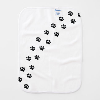 DOXIE-Hearts Burp Cloth