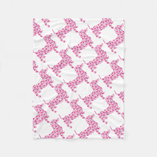 DOXIE-Hearts Fleece Blanket