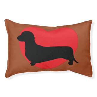 Doxie Love Dog Bed
