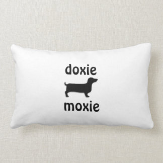 doxie moxie pillow
