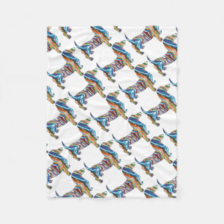 DOXIE-Psych Fleece Blanket