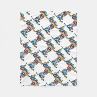 DOXIE-Psych Fleece Blanket