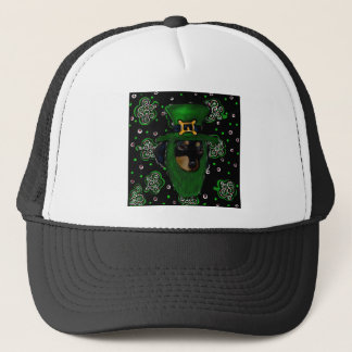 Doxie St. Patty Trucker Hat