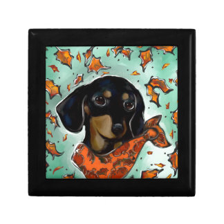 Doxie Thanksgiving Gift Box