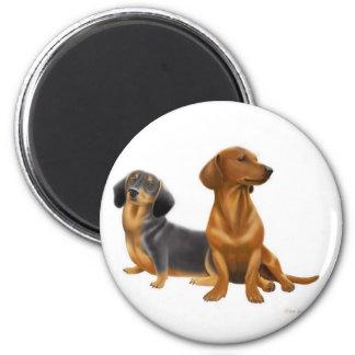 Doxie Wiener Dogs Magnet