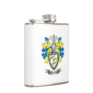 Doyle Coat of Arms Flask