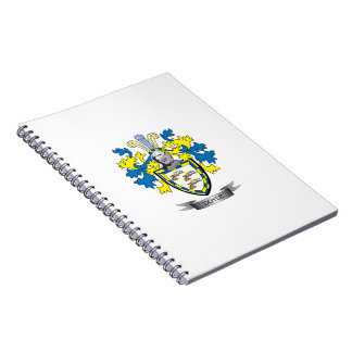 Doyle Coat of Arms Spiral Note Books