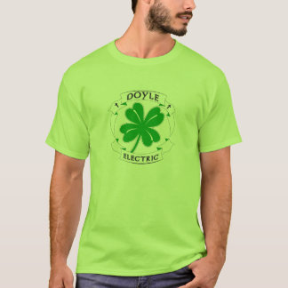 Doyle Electric Green and Black logo T-Shirt