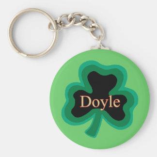 Doyle Family Basic Round Button Key Ring