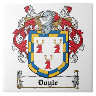 Doyle Family Crest Large Square Tile
