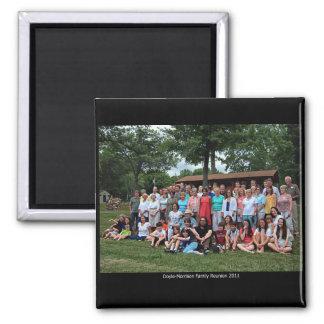 Doyle-Morrison Family Reunion 2011 Square Magnet