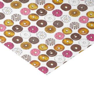 Dozen Donuts Doughnuts Junk Food Breakfast Tissue Paper