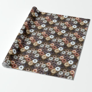 Dozen Donuts Repeat Wrapping Paper