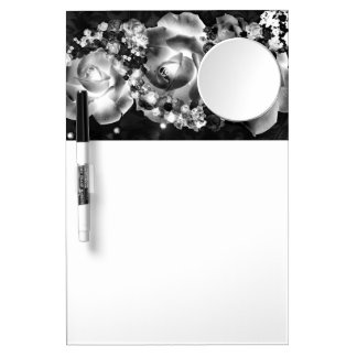 Dozen Roses Dry Erase Board With Mirror