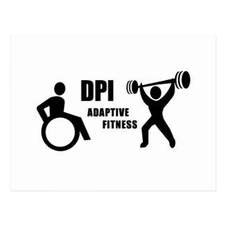 DPI Adaptive Fitness Postcard