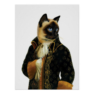 DR041 Siamese Cat poster