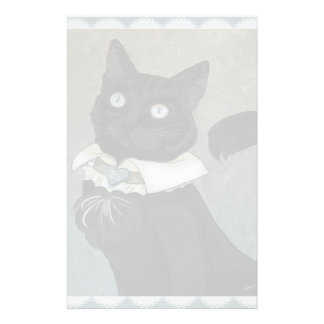 "Dr. Bagheera 5.5"" x 8.5"" Stationery"