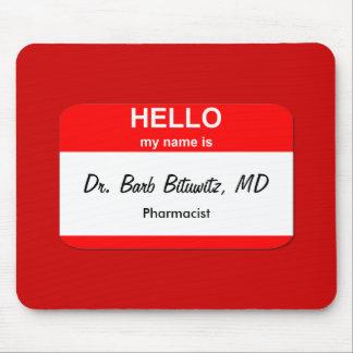 Dr Barb Bituwitz MD Mousepad
