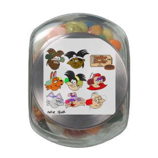Dr.Choker's Glass jar