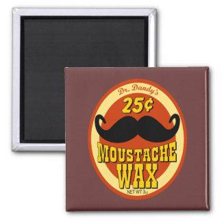Dr Dandy s Moustache Wax Refrigerator Magnets