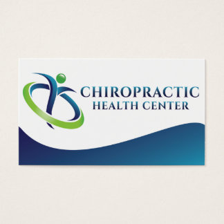 Dr. Eric Saugen's Chiropractic Business Card