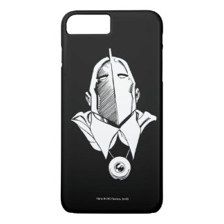 Dr. Fate Mask Outline iPhone 8 Plus/7 Plus Case