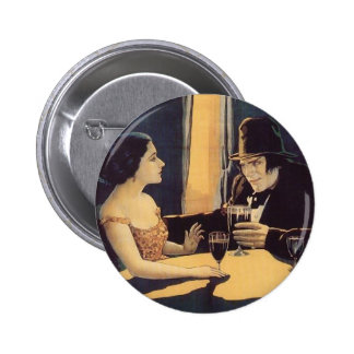 Dr. Jekyll and Mr. Hyde Vintage Movie Poster 6 Cm Round Badge