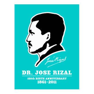 Dr. Jose Rizal @ 150th Birth Anniversary Souvenirs Postcard