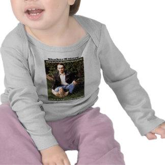 Dr Karl Shuker dinosaur footprint - ShukerNature T-shirts