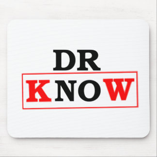 Dr. Know Mouse Pad