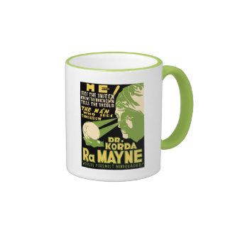Dr Korda RaMayne - The Man Who Knows Tomorrow Ringer Mug