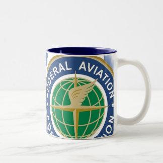 DR name - Customized Two-Tone Coffee Mug