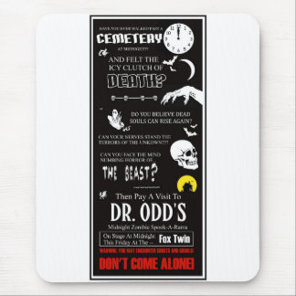 Dr. Odd At The Fox Twin Mouse Pad