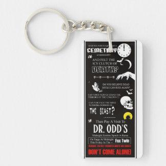 Dr. Odd's Spook Show Rectangular Acrylic Key Chains