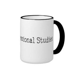DR of Professional Studies Ringer Mug