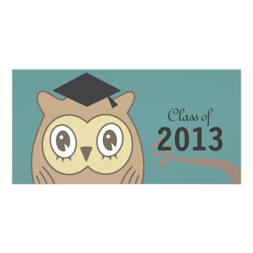 Dr. OWL Graduate Personalized Photo Card