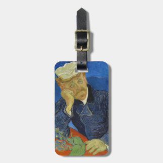 Dr Paul Gachet by Vincent van Gogh 2nd Version Luggage Tag