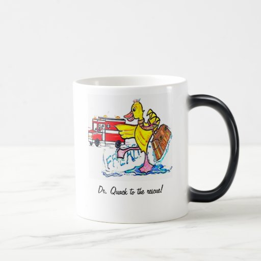 Dr. Quack to the rescue. Coffee Mugs