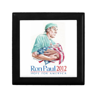Dr. Ron Paul 2012 For President Small Square Gift Box