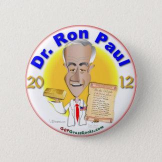 Dr. Ron Paul 6 Cm Round Badge