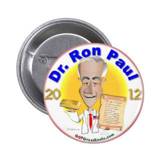 Dr. Ron Paul 6 Cm Round Badge