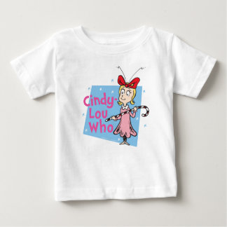 Dr. Seuss | Cindy-Lou Who - Candy Cane Baby T-Shirt