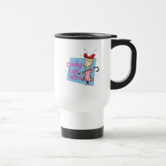 Dr. Seuss | Cindy-Lou Who - Candy Cane Travel Mug