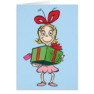 Dr. Seuss | Cindy-Lou Who - Holding Present Card
